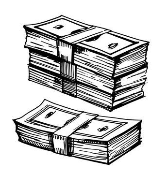 Sketch of money