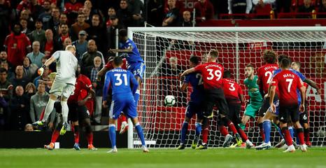 Premier League - Manchester United v Leicester City