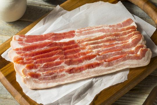 Raw Grass fed Bacon Strips