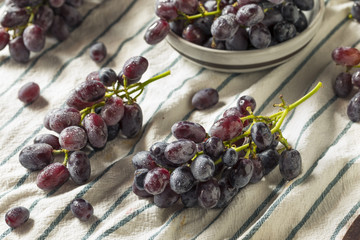 Raw Organic Purple Grapes