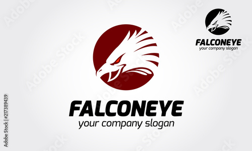The modern and professional logo template with the abstract