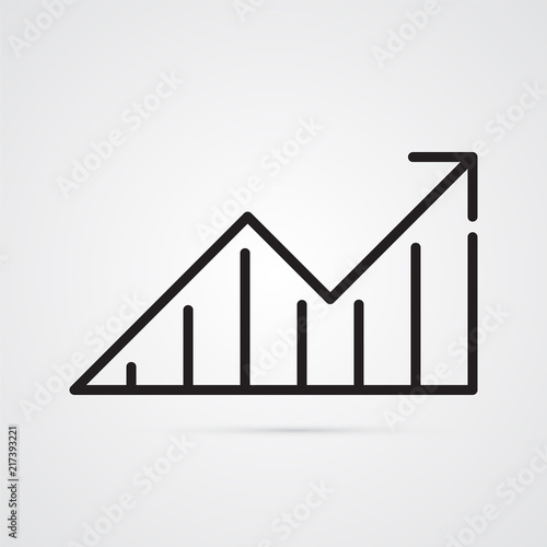 Arrow With Blocks For Illustration Of Phased Progress Increase In