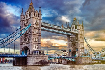 Photo sur Plexiglas Londres london tower bridge