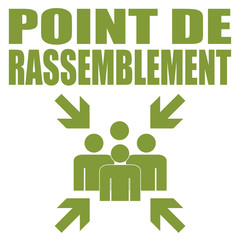 Logo point de rassemblement.