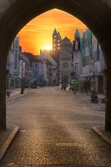 Speyer zum Sonnenaufgang