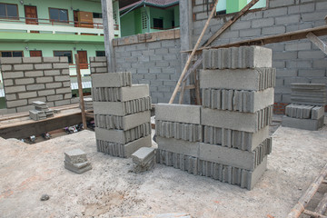Process of construction in Thailand