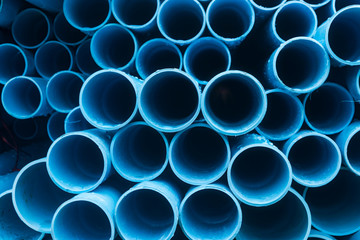 pvc tubes for construction or water supply system