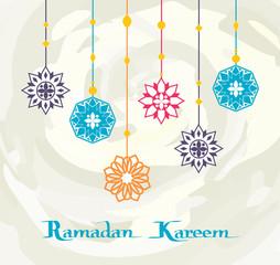 Ramadan Kareem White Background, Premium Design