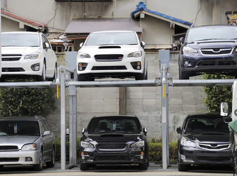 Japanese style Multilevel Car Parking System