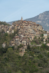 Apricale. Ancient village, Province of Imperia, Italy