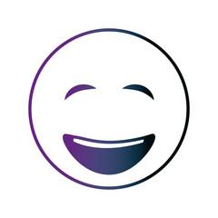 smiley big emoticon eyes closed happy neon design image