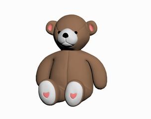Brauner Teddybär