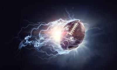 American football game Wall mural