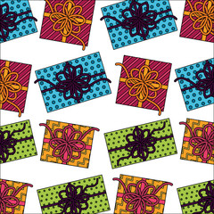 gift boxes present pattern