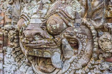 Ubud palace, Bali - Inside the Ubud palace, Bali