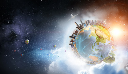 Fototapete - Our unique universe