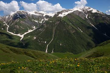 Svaneti mountains in Georgia