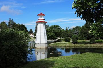View of Wellington Park in Simcoe, Ontario
