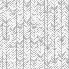 Obraz Seamless pattern of herringbone scandinavian style background - fototapety do salonu