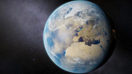 Vertrocknete Erde