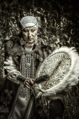 elderly woman shaman