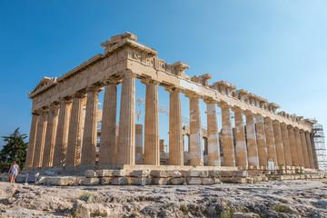 Parthénon, Acropole à Athènes Fototapete