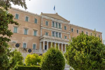 Parlement grec à Athènes