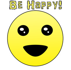 Be Happy - Original Emoji Design