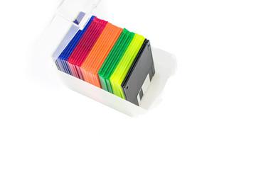 Floppy disk storage media for external hard drive