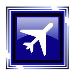 иконка самолет