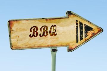 Schild 328 - BBQ