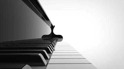 グランドピアノ 鍵盤