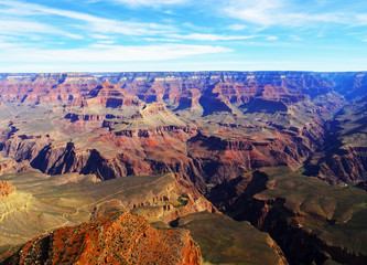 Beautiful view of Grand Canyon in Arizona in the USA