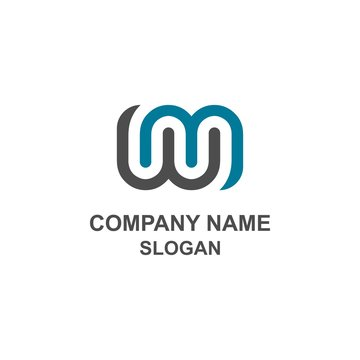 WM letter initial logo.