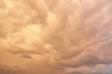 Himmel Hintergrund mit Wolken