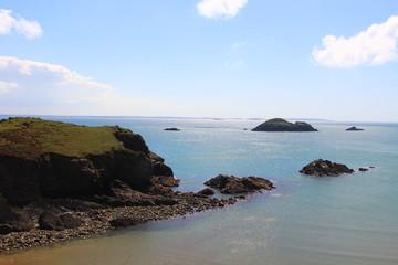 Coastal Beach Seascape Landscape Background