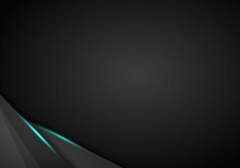 abstract metallic modern Blue black frame design innovation concept layout background.