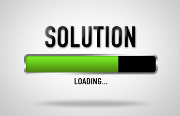 Solution loading process