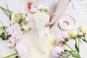 How to make lovely present for wedding guests tutorial.