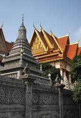 Wat Langka temple in Phnom Penh. Cambodia
