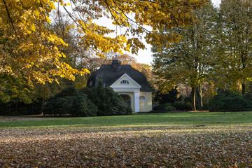 Goldener Oktober im Stadtgarten Bottrop