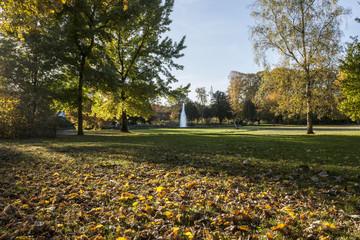 Herbst im Stadtgarten  von Bottrop
