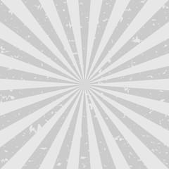 Retro faded grunge background. dark grey color burst background. Vector illustration.