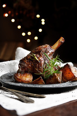 Traditional Roast Leg of Lamb