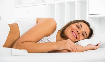 Woman lying poses