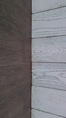 madera en perspectiva blanco y negro