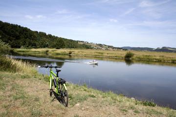 Unterwegs an der Weser zwischen Polle und Bodenwerder
