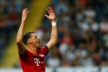 German Super Cup - Eintracht Frankfurt v Bayern Munich