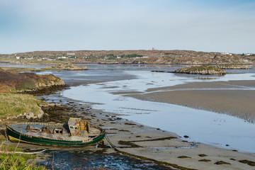 Cruit Island boat