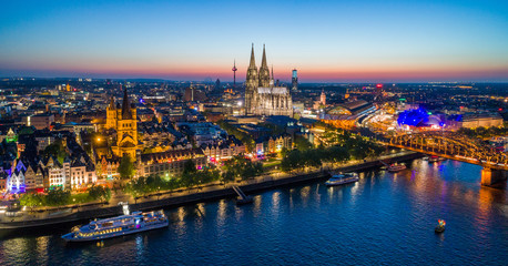 Cologne Germany Skyline
